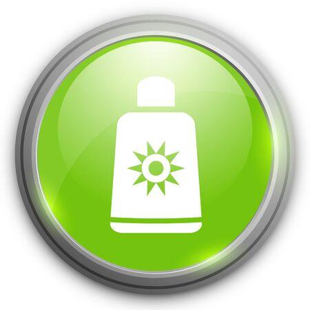 suntan cream: sunscreen icon