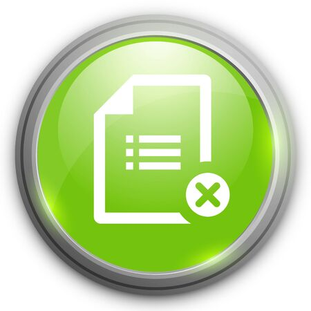 delete: Delete document icon