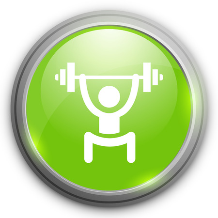 weights: lifting weights icon
