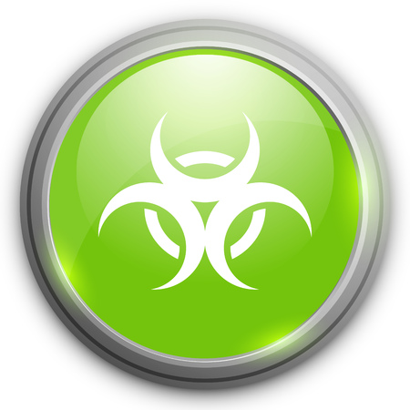 hazard: biological hazard  icon