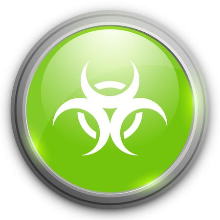 riesgo quimico: icono de riesgo biol�gico