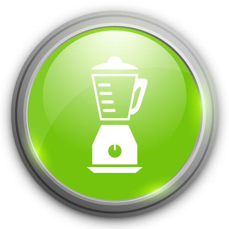 licuadora: icono de la licuadora Vectores