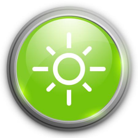 firmament: sunny weather icon Illustration