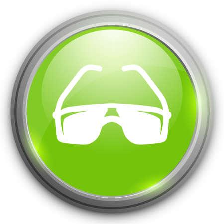 sun glasses: sun glasses icon Illustration