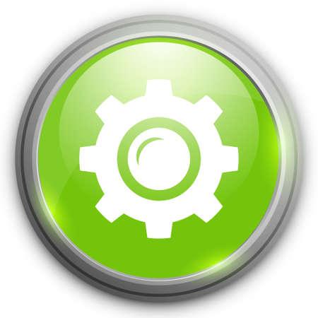settings icon: Gears settings icon