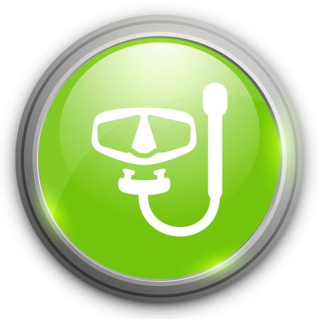 snorkeling: snorkeling   icon
