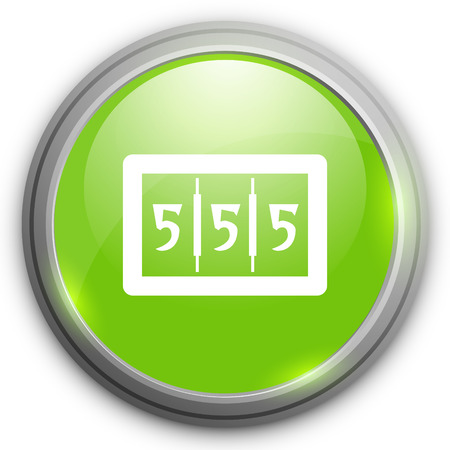 jackpot: 555 jackpot vector icon