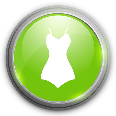 romantic: romantic sexy dress icon