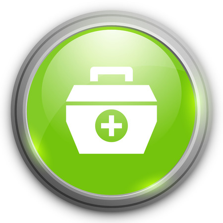 in case: medical case icon Illustration