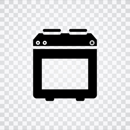 stove: stove icon Illustration