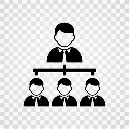 organisational: organisation chart   icon