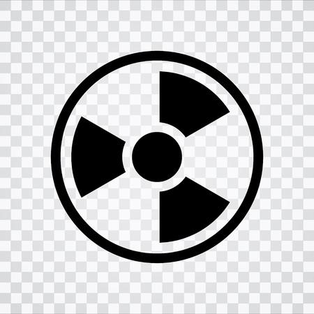 radioactive  icon Illustration
