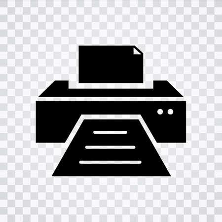 printer icon Illustration