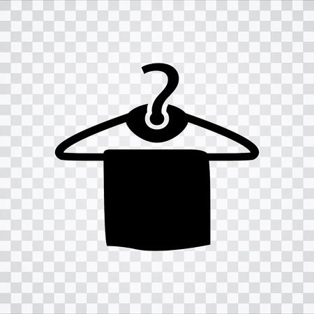 towel hanger  icon Illustration