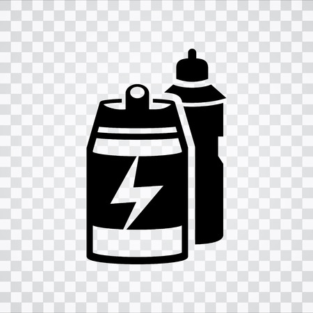 paint can: spraying icon Illustration