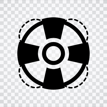 lifebuoy   icon Illustration