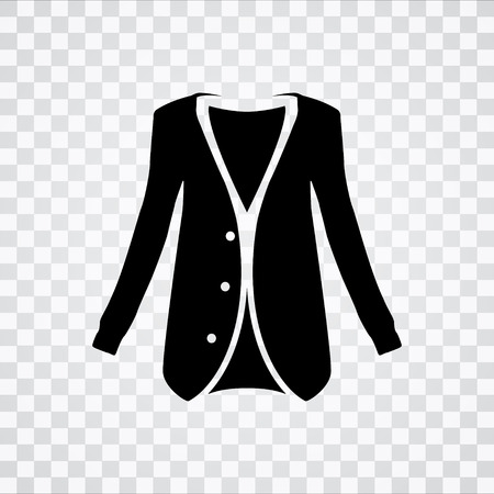 white coat: jacket icon