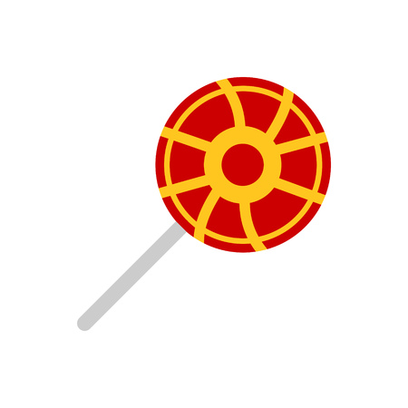 Lollipop vector on a white background Ilustração