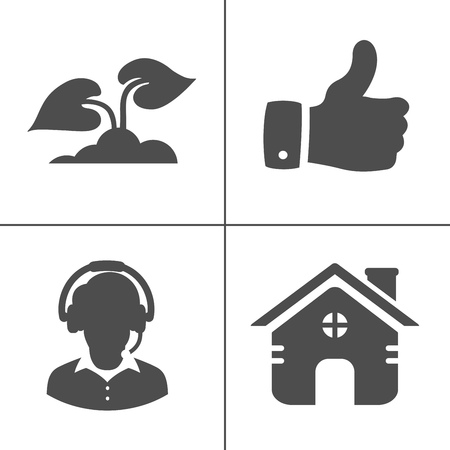 web icons set, communication, media, computer and mobile icons