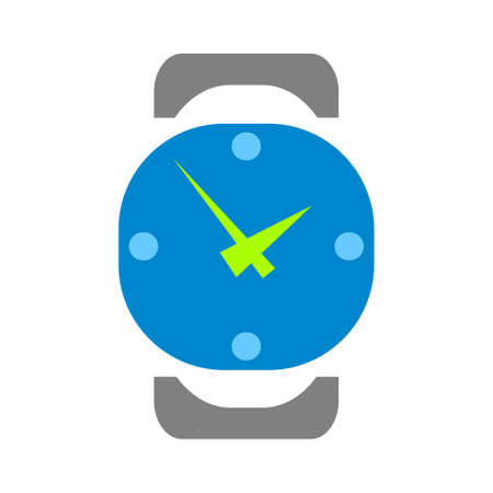 vector wrist watch icon