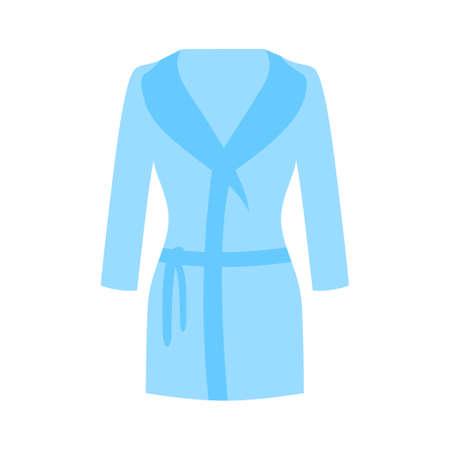 bathrobes icon - vector clothes, vector fashion illustration -woman clothing