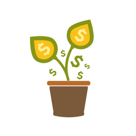 investment growth icon