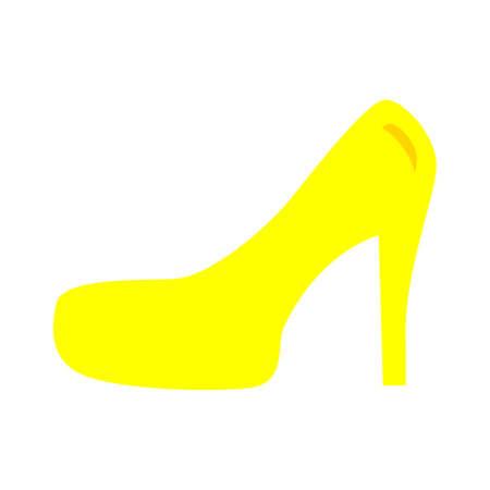 high heeled icon