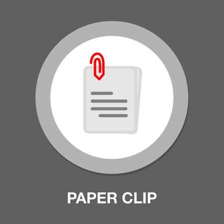 paper clip attachment icon - paper clip, email attachment, attached file