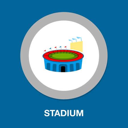 Sport icon - Stadium sign, soccer Stadium