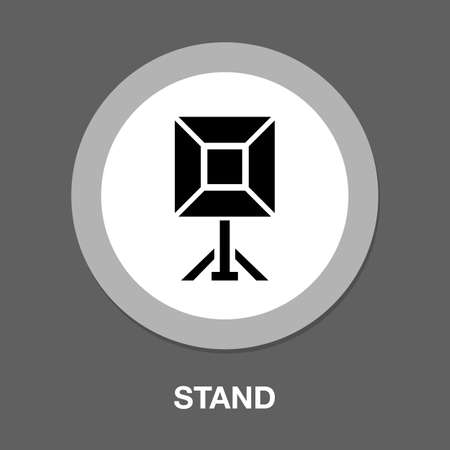 camera cinema stand icon - From Multimedia, Camera and Photography icons set