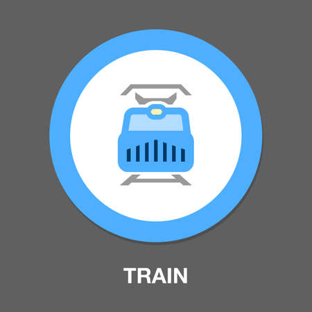 subway train icon. element illustration. subway train symbol design. colored collection. subway train concept. Can be used in web and mobile