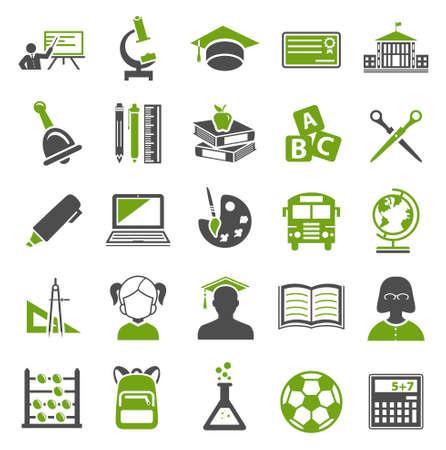Education Icons Vecteurs