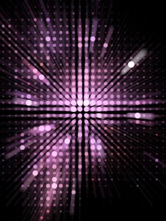 radial background: Abstract Digital Background made of various sized circles
