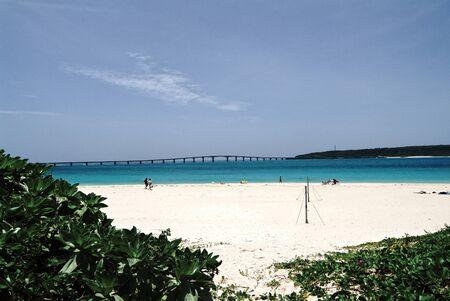 foreshore: Yonaha of miyako island beach foreshore