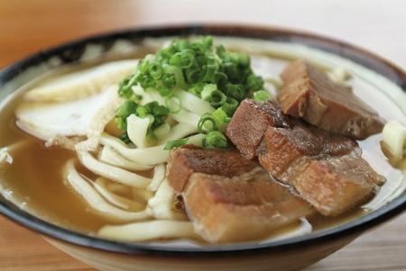soba: okinawa soba restaurant yanbaru Stock Photo