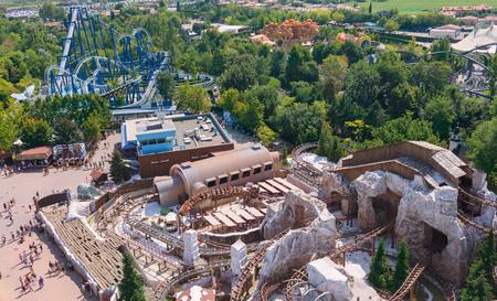 Castelnuovo del Garda, tree, Italy - September 31 2016: Gardaland Theme Amusement Park in Castelnuovo Del Garda, Verona, Italy.Gardaland Sajtókép
