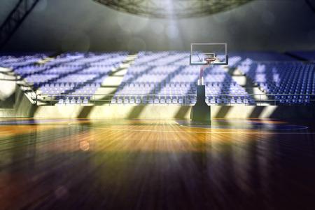 cancha de basquetbol: Estadio de baloncesto 3d Render