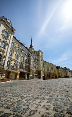 enclave: City street in sunny day