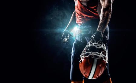 アメリカン フットボール スポーツマン選手の競技場 写真素材 - 36031605