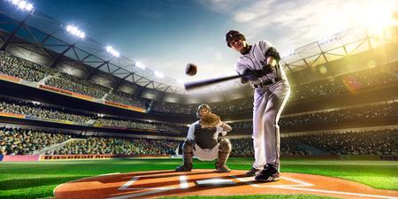 그랜드 경기장에서 프로 야구 선수