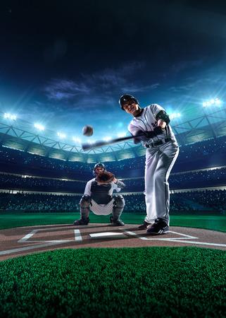 beisbol: Jugadores de b�isbol profesionales en la gran arena