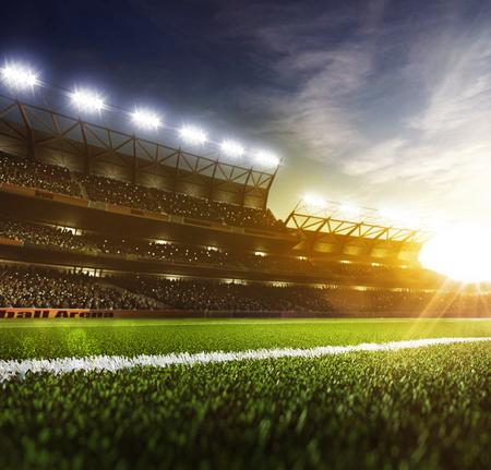 グランドデイスポーツアリーナの背景 写真素材