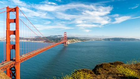 Golden Gate Bridge in San Fransisco, California