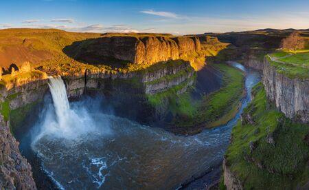 The Palouse Falls in Washington, USA