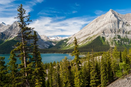 Upper Kananaskis Lake in the Canadian Rockies