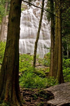 Bridal Veil Falls near Chilliwack, BC