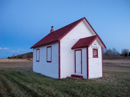 古い1部屋の校舎