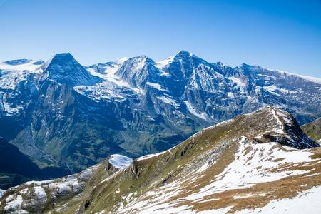Views along the Grossglockner High Alpine Road in Austria, Europe