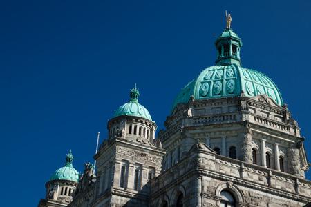 British Columbia Provincial Parliament in Victoria, Canada