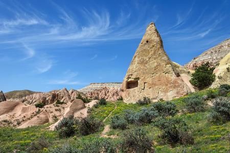 phallus: Rocks in the form of huge phalli in the valley of Love, Cappadocia, Turkey